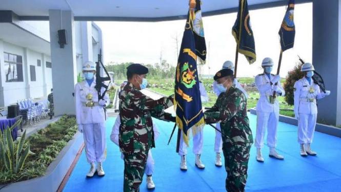VIVA Militer: Pangkoarmada III pimpin Sertijab 13 pejabat baru Koarmada III