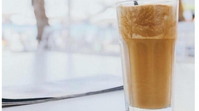 Proffee tren kopi viral terbaru.