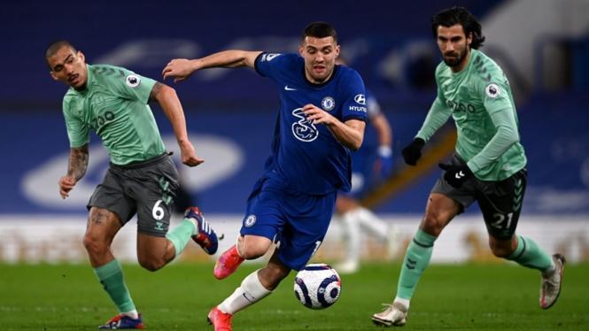 Pertandingan Chelsea melawan Everton
