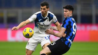 Pertandingan antara Inter Milan melawan Atalanta