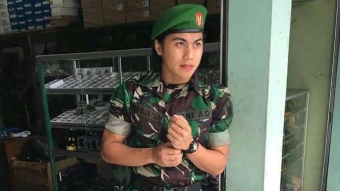 VIVA Militer: Serda TNI Aprilia Manganang