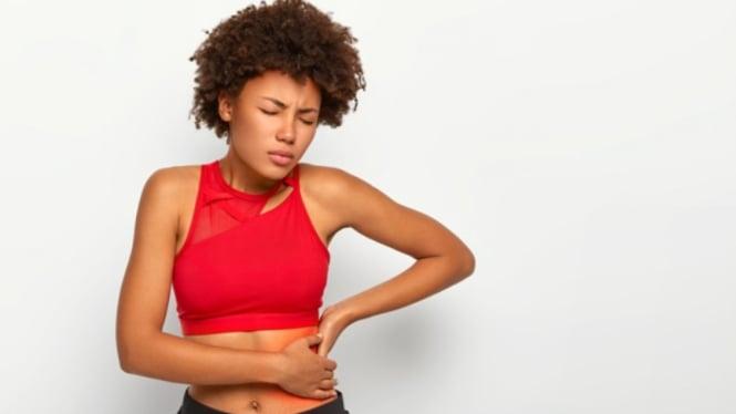 Ilustrasi penyakit ginjal/sakit pinggang.