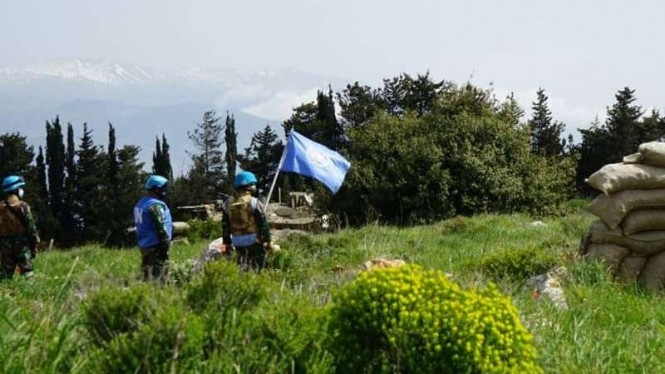 VIVA Militer: Satgas TNI Indobatt XXIII-O/UNIFIL hadang Tank Israel di Lebanon