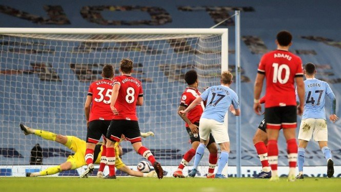 Pertandingan Manchester City vs Southampton