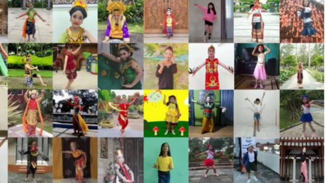 Puluhan Anak Tunjukkan Talenta di Bidang Tari dan Dance