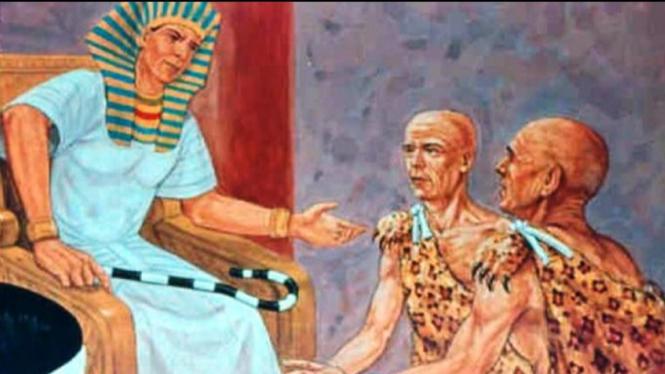 Ilustrasi Firaun