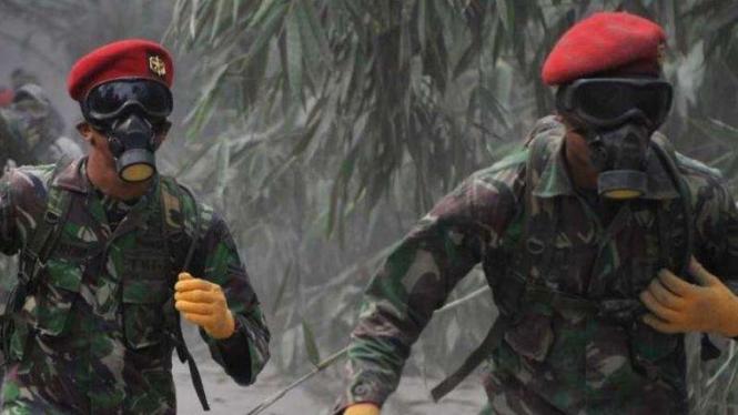 VIVA Militer: Anggota Komando Pasukan Khusus (Kopassus) TNI Angkatan Darat