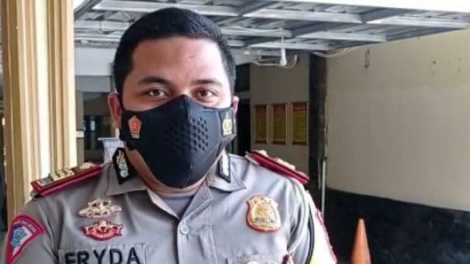 Kasatlantas Polres Sumedang Ajun Komisaris Polisi Eryda.