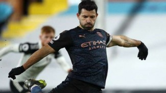Striker Manchester City, Sergio Aguero.