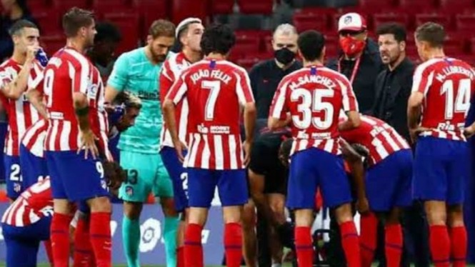 Skuad Atletico Madrid.