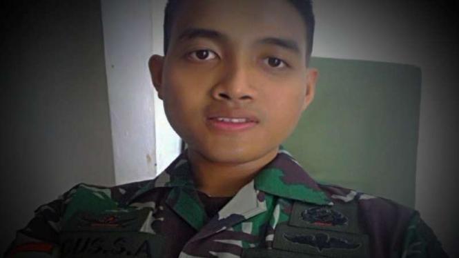 VIVA Militer: Almarhum semasa hidup.