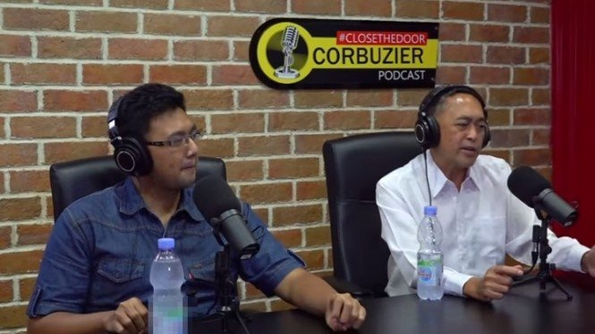 Dewa Kipas saat jadi bintang tamu podcast Deddy Corbuzier