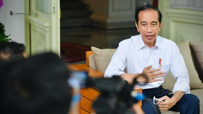 Presiden Jokowi Beri Keterangan Soal Masa Jabatan Presiden 3 Periode