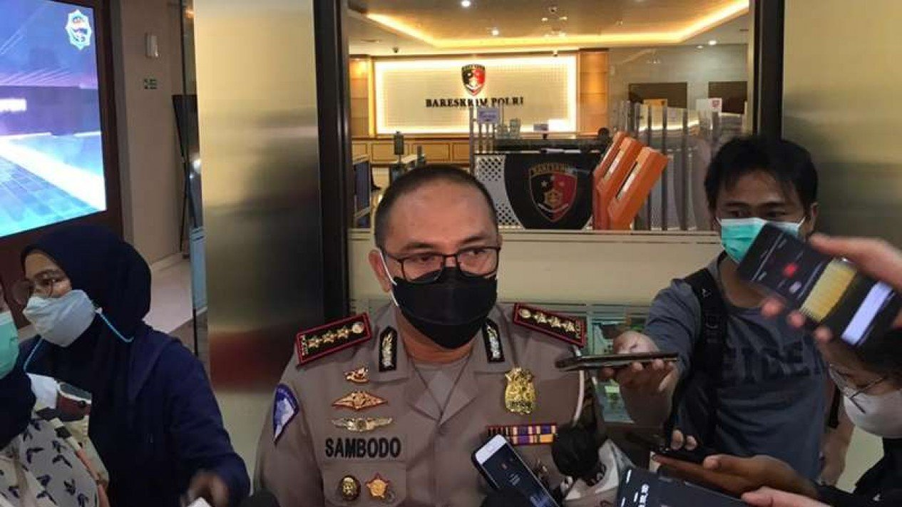 Direktur Lalu Lintas Polda Metro Jaya Kombes Sambodo Purnomo Yogo