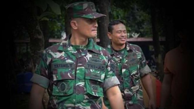 VIVA Militer: Kapten TNI Tatang Taryono.