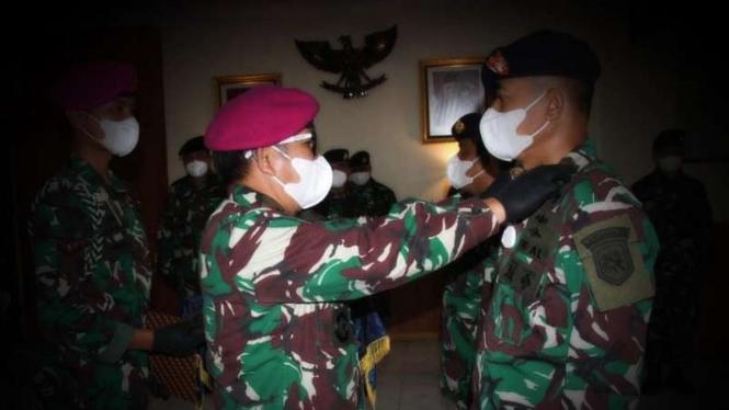 VIVA Militer: Danlanal Tolitoli Letkol Laut (P) Hariono