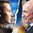 SpaceX vs Amazon.