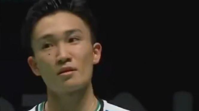 Tunggal Putra Jepang, Kento Momota.