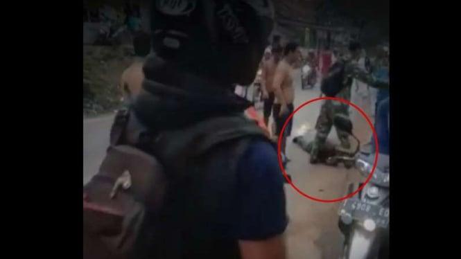 VIVA Militer: Prajurit Kostrad TNI selamatkan nyawa maling.