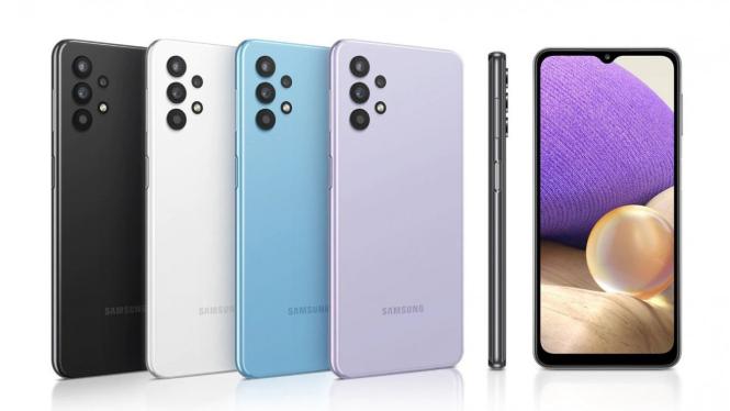 Samsung Galaxy A32.
