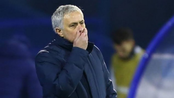 Manajer Tottenham Hotspur, Jose Mourinho.