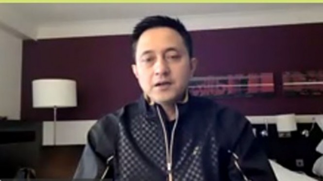 Manajer Tim Bulutangkis Indonesia, Ricky Subagja.