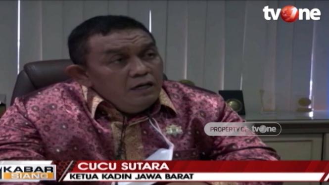 Ketua Kadin Jawa Barat Cucu Sutara