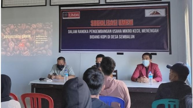 Sosialisasi Pengenalan Digital Marketing di Desa Sembalun