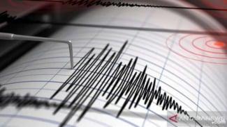 Ilustrasi - Seismograf, alat pencatat getaran gempa.