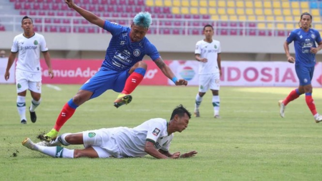 Duel Arema vs Tira Persikabo di Piala Menpora