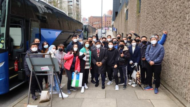 Tim Indonesia pulang dari Inggris