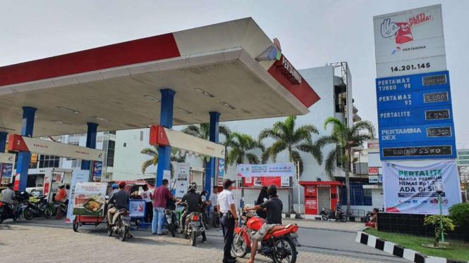 Pertamina lanjutkan program Pertalite seharga Premium di Medan