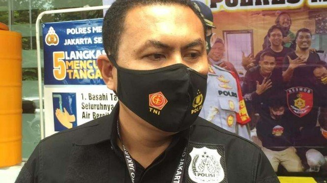 Kasat Reskrim Polres Metro Jakarta Selatan, AKBP Jimmy Christian Samma