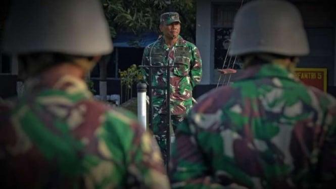 VIVA Militer: Komandan Brigif 2 Marinir Pasmar 2 Kolonel Marinir Rudi Harto M.