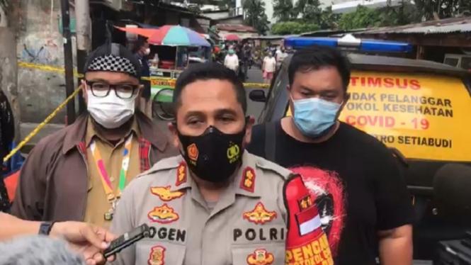 Kapolsek Metro Setiabudi, Ajun Komisaris Besar Polisi Yogen Heroes