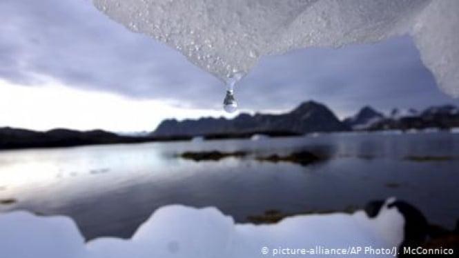 Gletser.