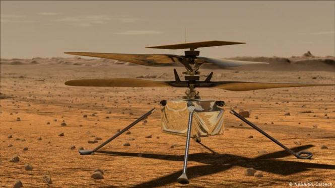 Helikopter Ingenuity.