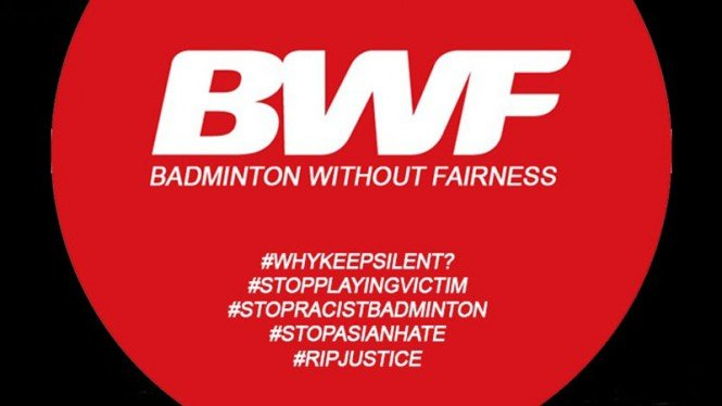 Netizen beri julukan BWF (Badminton Without Fairness)