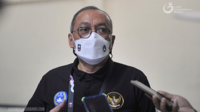 Direktur Utama PT LIB, Akhmad Hadian Lukita.