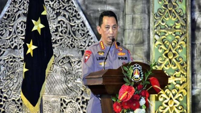 Kapolri Jenderal Listyo Sigit Prabowo