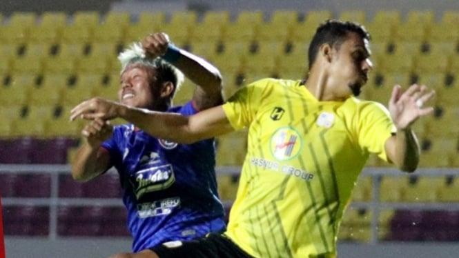 Pertandingan Arema FC vs Barito Putera