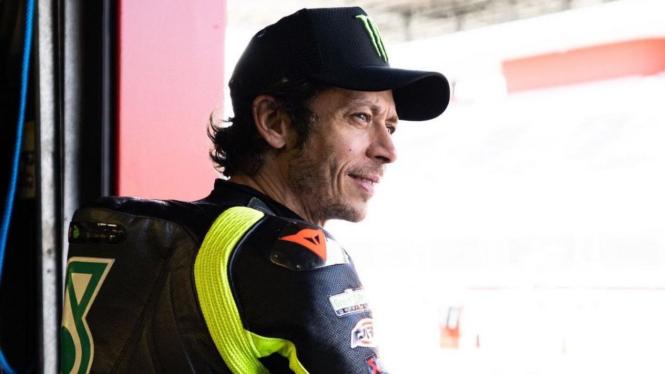 Pembalap Petronas Yamaha, Valentino Rossi