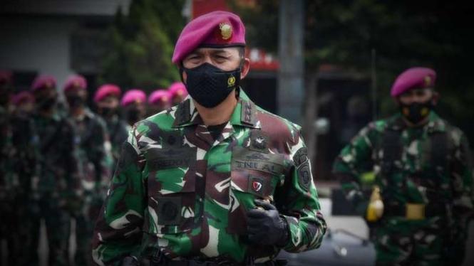 VIVA Militer: Danbrigif 1 Pasmar, Kolonel Marinir Freddy Ardiansyah