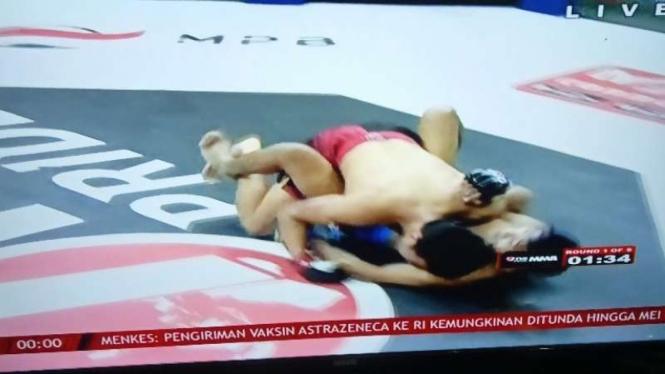 Duel One Pride Alfiandi vs Brian Lawitan.