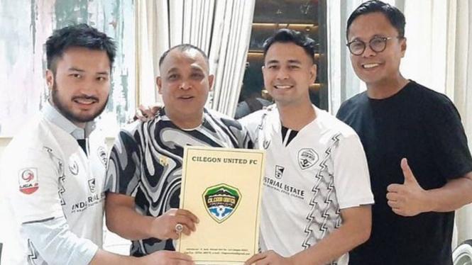 Artis Raffi Ahmad akuisisi klub Liga 2 Cilegon United.