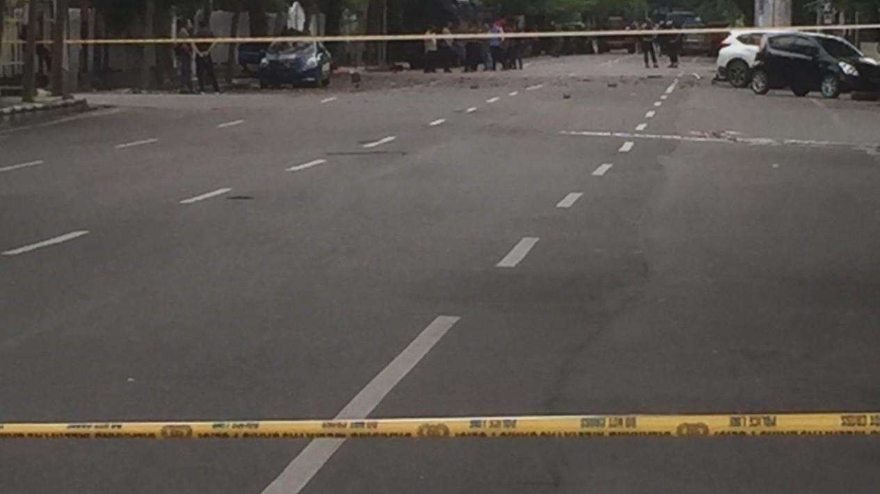 Garis polisi di lokasi tempat kejadian perkara. (Foto ilustrasi)
