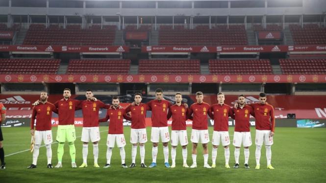 Skuad Timnas Spanyol di Kualifikasi Piala Dunia 2022