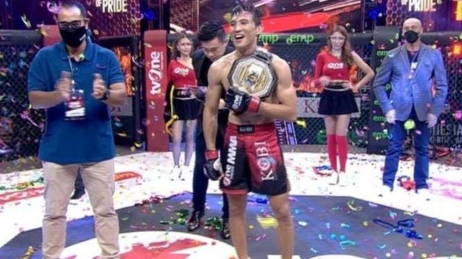 Petarung One Pride MMA, Brian Lawitan.