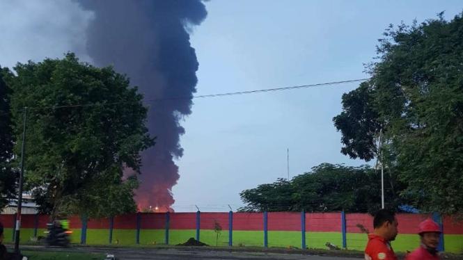 Dirut Pertamina: Tak Ada Korban Jiwa Dalam Kebakaran Kilang Balongan