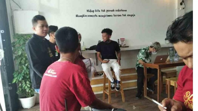 Natt & Gee Coffee - Markas Baru Komunitas Blogger Pontianak
